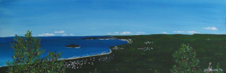 """Mount Coolum Views"" by Jazmin Wilkins. Paintings for Sale. Bluethumb - Online Art Gallery"