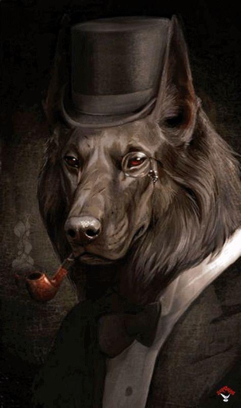 Sherlock Holmes Dog            ANTROPOMORFISMUL constă în atribuirea de însușiri și calități umane unor ființe non-umane, obiecte sa...
