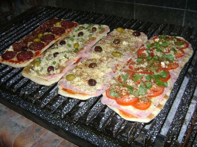 Hombre y cocinero: Pizza a la parrilla, Recetas, Cocina, Comida