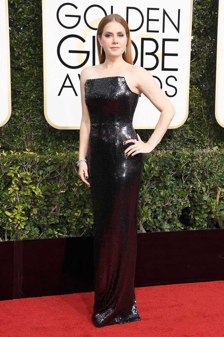 AMY ADAMS - Golden Globes 2017 Red-Carpet Looks