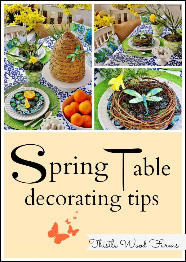 Spring Table Decorations 26 best spring table decor ideas images on pinterest | flowers