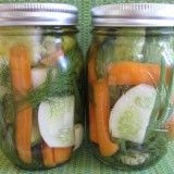 Receita de Pickles Caseiros