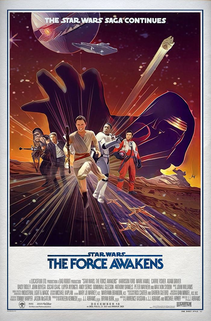 STAR WARS • The Force Awakens
