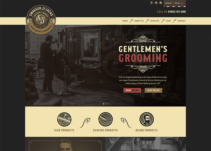 The Swagger & Jacks are the UK's largest Gentlemen's Grooming Barbershop, in the heart of Norwich City centre.