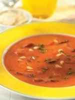 Tomaten-mascarponesoep