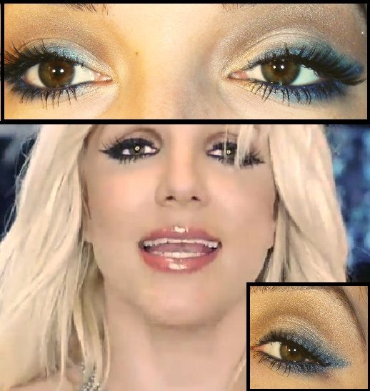 Britney Spears Makeup Google Search Blonde Hair Brown