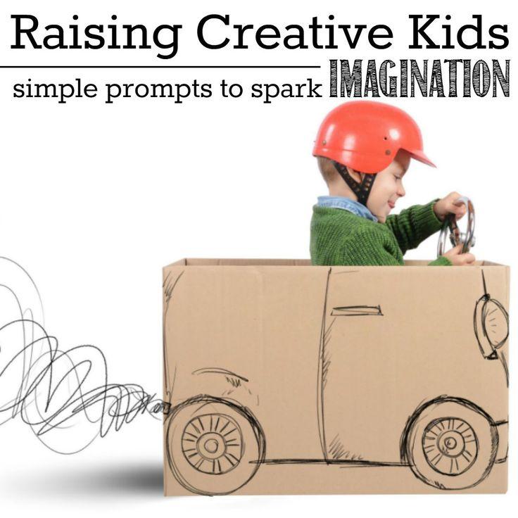 Raising Creative Kids | Simple Prompts to Spark Imagination