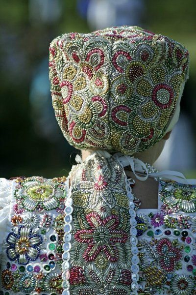 Slovak folk costume (kroj)