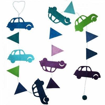 Hanger Auto's Blauw