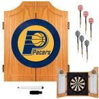 NBA Indiana Pacers Wood Finish Dart Cabinet Set