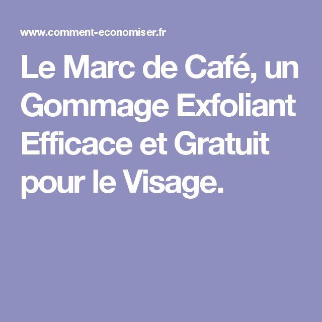 Le Marc de Café, un Gommage Exfoliant Efficace et Gratuit pour le Visage.