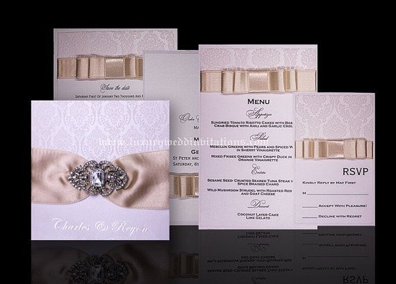 A Velvet #Wedding Suit For your Special Wedding Guests  Wedding Invitations  Embellished Velvet Touch Wedding Invitation Set is made by order.  The listing is for 100: - #Luxury Invitations with Embelishments - RSVP Cards With En... #anniversary #luxury #wedding #gold #bride #groom ➡️ http://jto.li/EREYH