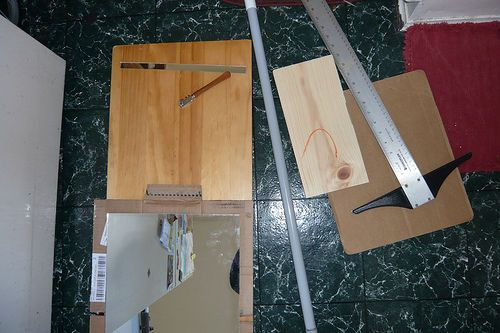 how to cut mirror without glass cutter