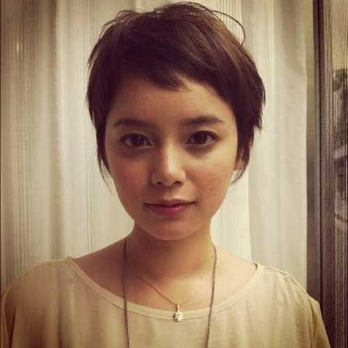 8.Pixie Cuts with Fringe