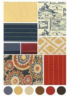 crimson navy mustard color scheme for mom colour board. Black Bedroom Furniture Sets. Home Design Ideas