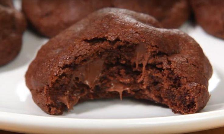 Biscuits moelleux double chocolat... À faire ABSOLUMENT durant les vacances de Noël