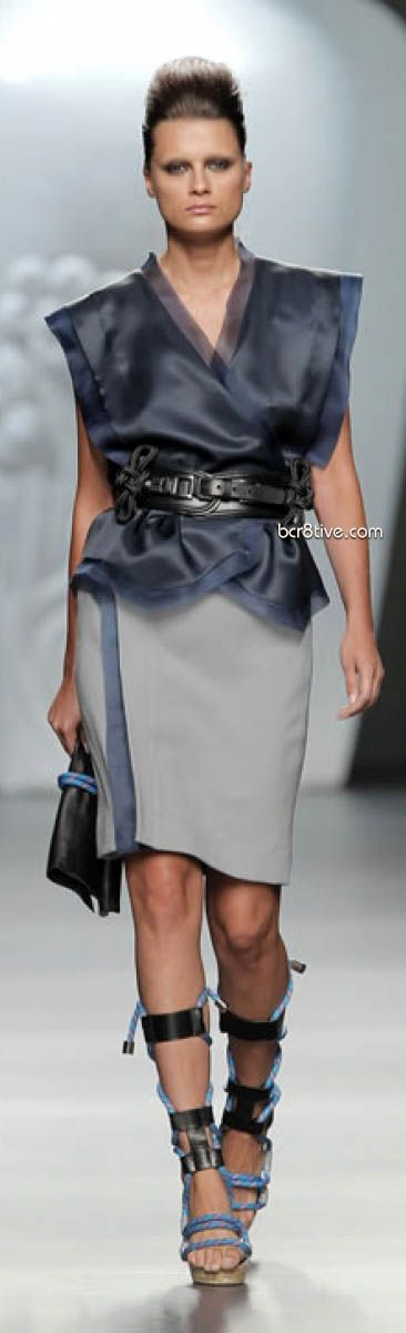 Ana Locking Spring Summer 2012 Mercedes-Benz Fashion Week Madrid