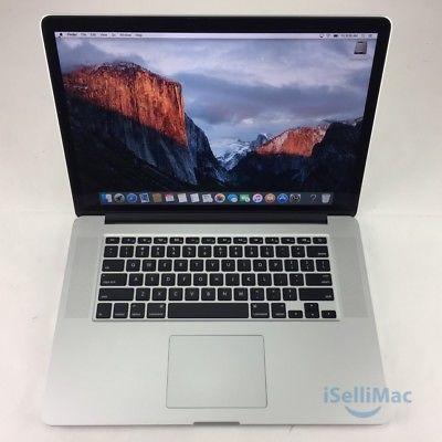 """Apple 2014 MacBook Pro Retina 15"""" 2.2GHz I7 256GB SSD 16GB MGXA2LL/A  C Grade"""