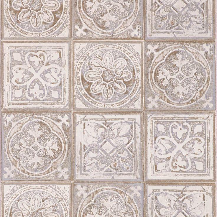 simple papier peint victoria vinyle sur intiss motif trompe luoeil galet peinture et with. Black Bedroom Furniture Sets. Home Design Ideas