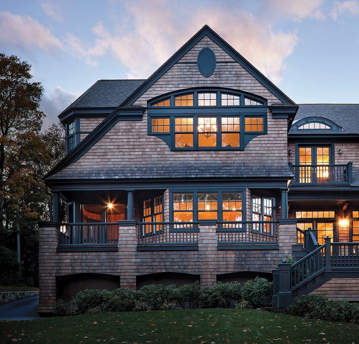 home decor: the back design of a rustic style house