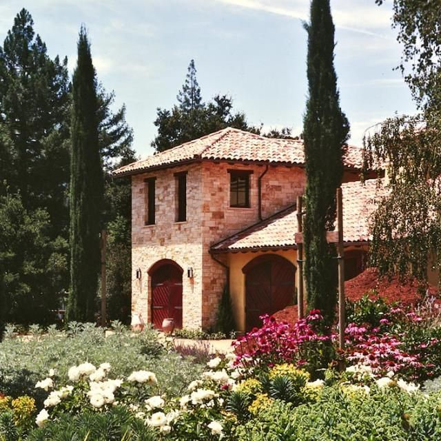 53 best tuscan style images on pinterest for Italian mediterranean architecture