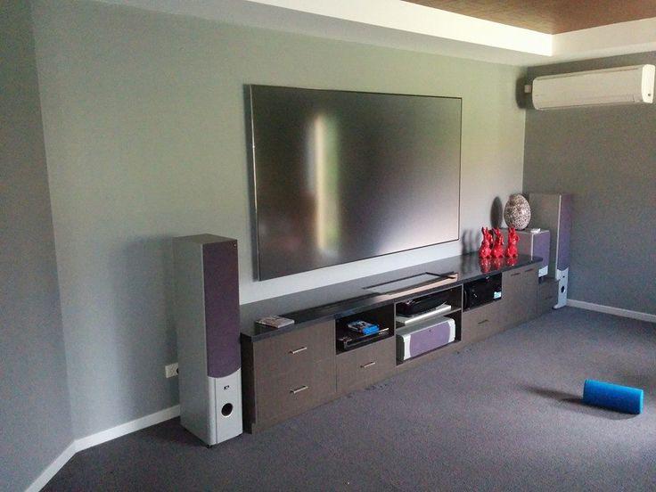 "Unique Laser TV Installation:- -100"" LG Hecto Laser TV -Denon AVR-X4000 Amplifier -Macktronix Standard 6"" Flush Mount Speakers -Integration of existing speakers supplied by customer"