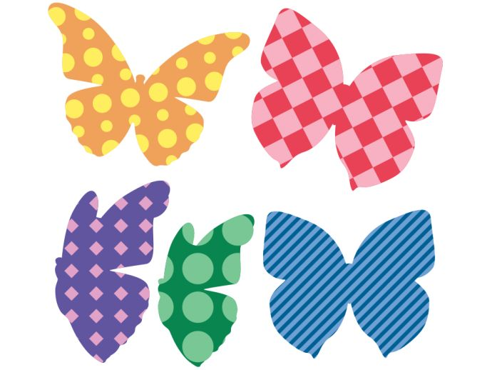 Colorful Butterflies- special stickers for kid's room #butterflies #stickers #homedecor #wallstickers