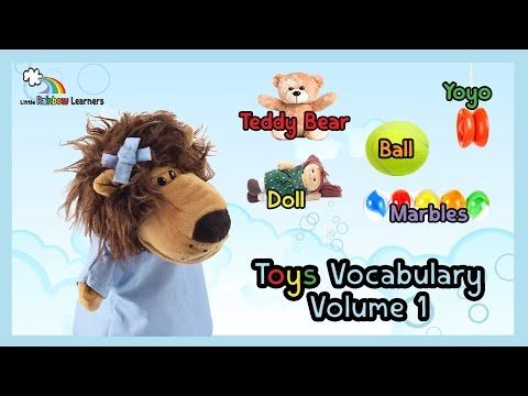Learn English vocabulary videos for kids & ESL: Learn Toys vocabulary - YouTube