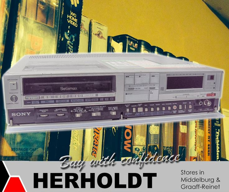 In 1977, #Sony came out with the first long play Betamax VCR, the SL-8200. This VCR had two recording speeds: normal, and the newer half speed. #Herholdt #TBT #appliances