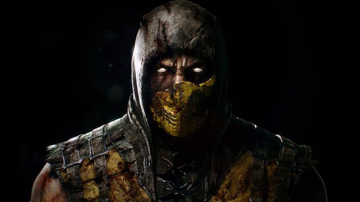 Scorpion - Mortal Kombat X Wallpaper HD - http://imashon.com/w/scorpion-mortal-kombat-x-wallpaper-hd.html