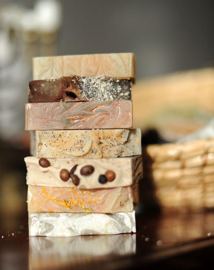 Our latest collection of handmade natural soaps  ALMARA SOAP www.almara-soap.cz
