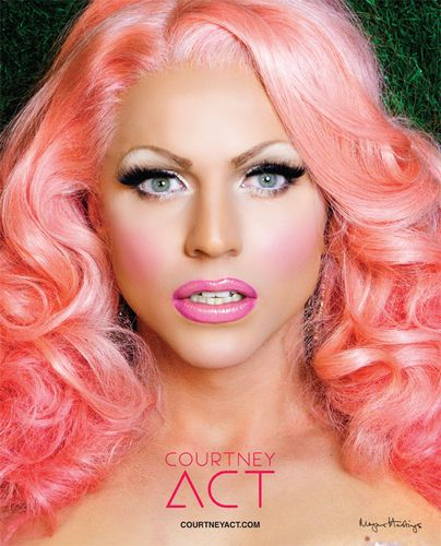 Courtney Act 8x10 Poster