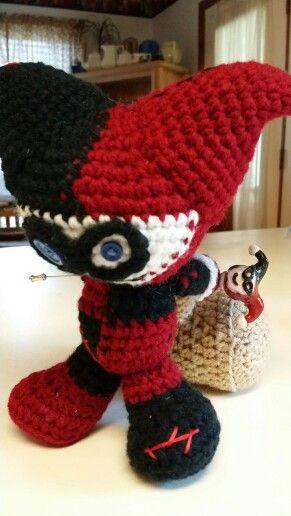 Crochet Harley Quinn Voodoo Doll By Cute Voodoo Www
