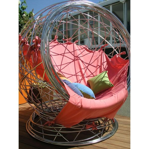 Wire nest backyard lounge pod.Nests Seating, Amazing Nests, Moore Design, Nests Chairs, Chairs Archives, Nests Backyard, Incr Design, Backyard Lounges, Chairs Offer