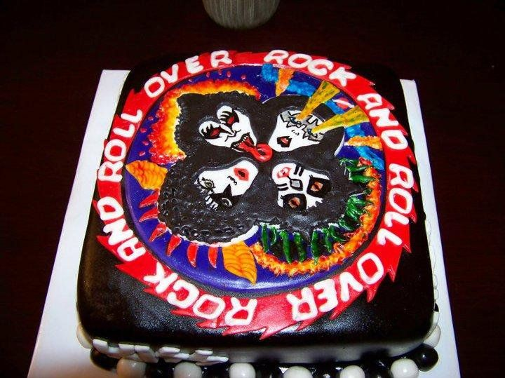 71 Best Rock N Roll Cakes Images On Pinterest Kitchens Awesome