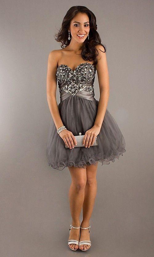 A-line/Princess Sweetheart Ruffles Sleeveless Short/Mini Organza Dress