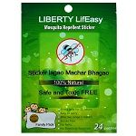 The liberty mosquito patches act like a protective shield and help keep mosquitoes at bay.#MosquitoRepellants #SelfProtection
