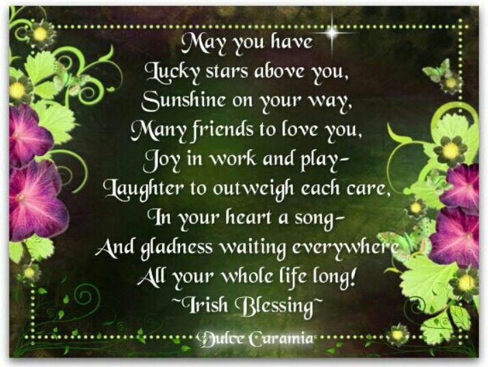 Birthday Wish Irish Blessing