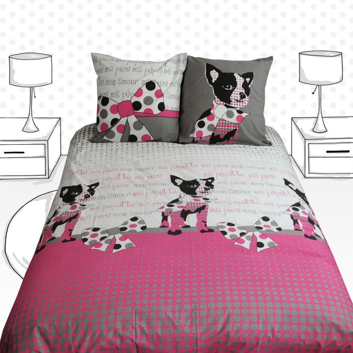 housse de couette jeunes adultes pepette pepette quilt cover for young adults collection. Black Bedroom Furniture Sets. Home Design Ideas