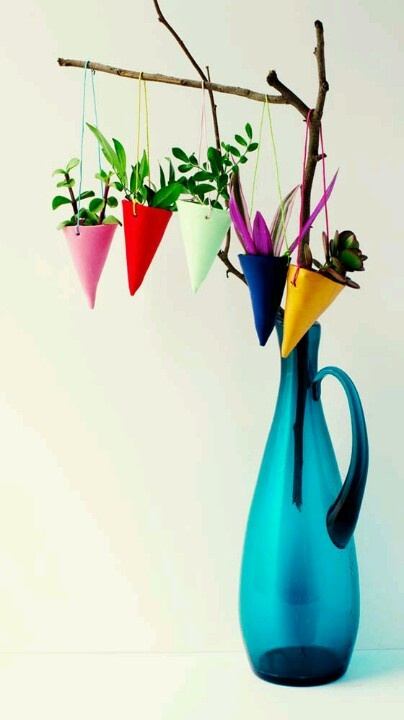 dyi hanging plant holders