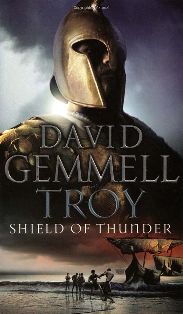 David Gemmell Book Cover Art : Troy shield of thunder trojan war trilogy amazon