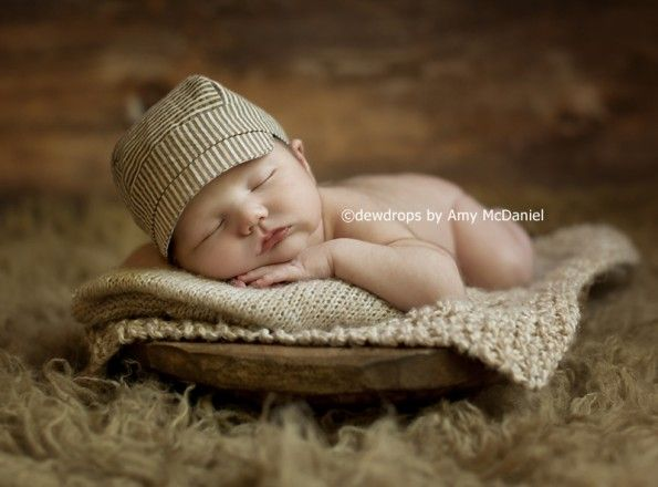 Newborn Baby Boy Photo Ideas by Dewdrops :: Inspire Me Baby
