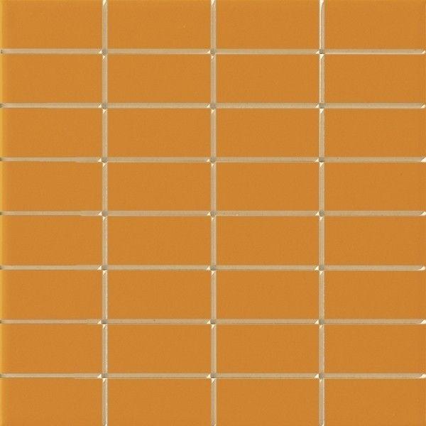 #Ragno #Uni-Tech lux Inciso 2 Arancio 20x20 cm R1SP | Feinsteinzeug | im Angebot auf #bad39.de 50 Euro/qm | #Mosaik #Bad #Küche