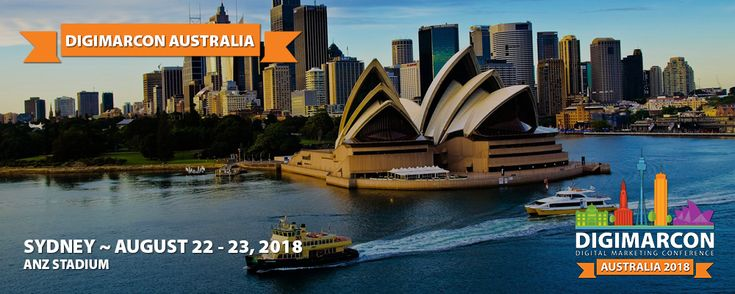 DigiMarCon Australia & NZ 2018 Digital Marketing Conference Heads to the ANZ Stadium in August