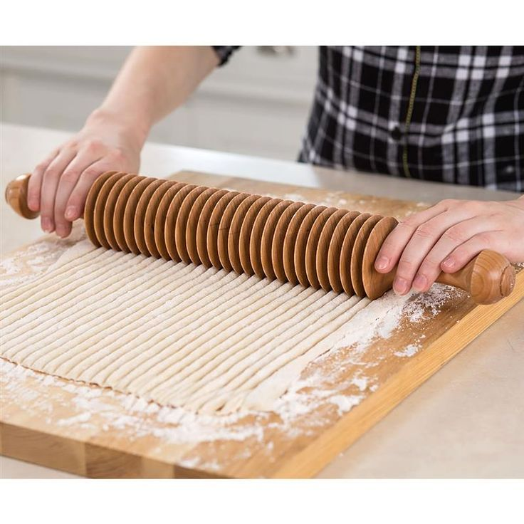 Use to make perfect noodles, then hang it in your kitchen to show off its simple beauty. At www.lehmans.com.