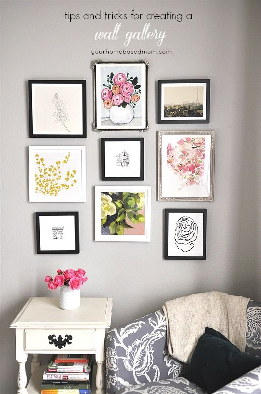 Home Decor - DIY Gallery Wall - The 36th AVENUE