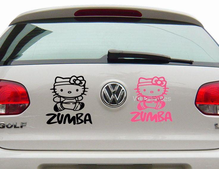 Hello kitty zumba decal sticker