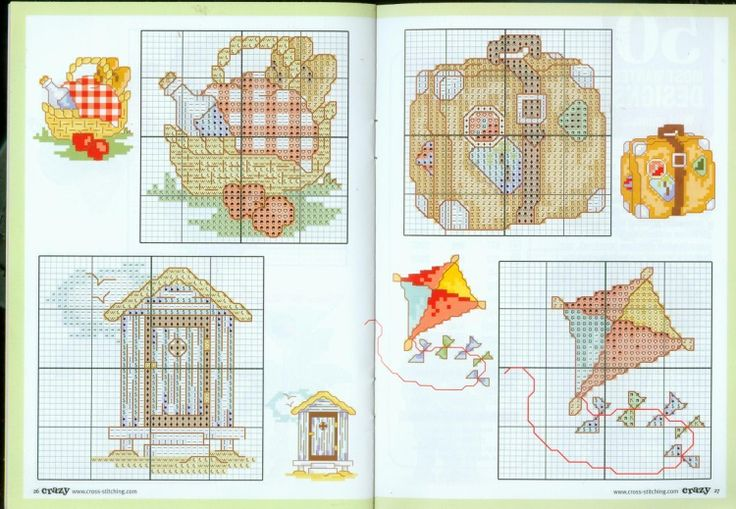 Gallery.ru / Фото #61 - Cross Stitch Crazy 050 сентябрь 2003 + приложение 50 most wa - tymannost