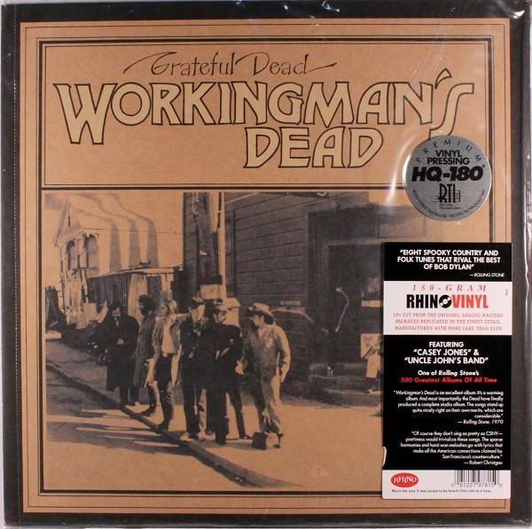 Grateful Dead Workingman S Dead Vinyl Lp Grateful Dead Vinyl Grateful Dead Vinyl Records
