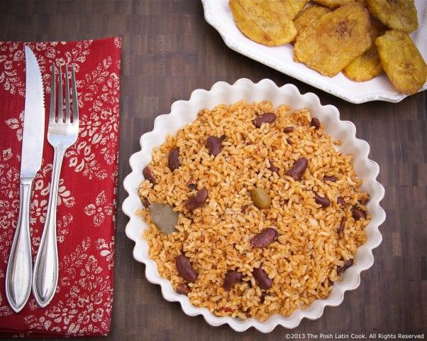 Rice and Red Beans Moro Recipe Dominican Style